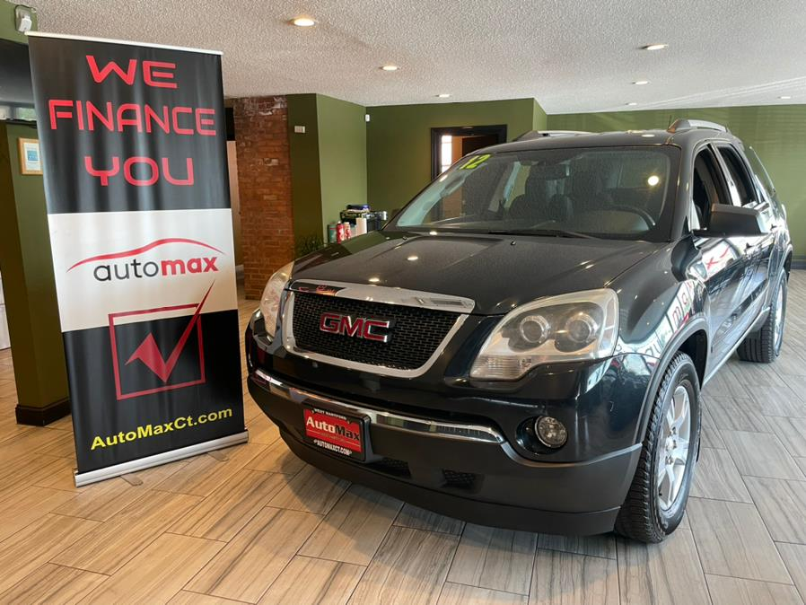Used 2012 GMC Acadia in West Hartford, Connecticut   AutoMax. West Hartford, Connecticut