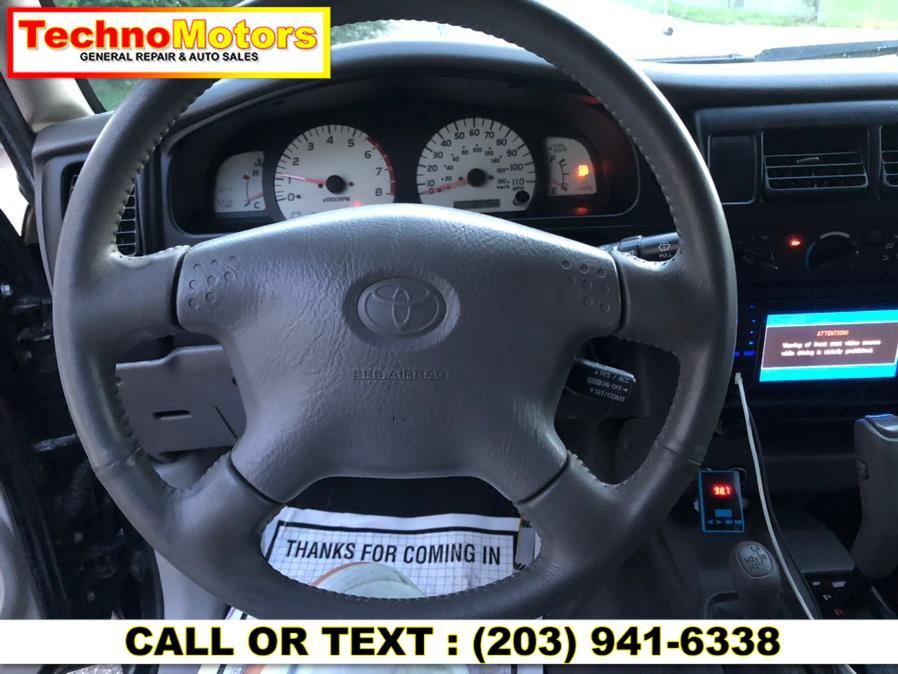 Used Toyota Tacoma DoubleCab V6 Auto 4WD (Natl) 2002   Techno Motors . Danbury , Connecticut