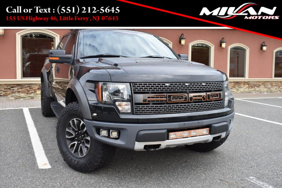 """Used Ford F-150 4WD SuperCrew 145"""" SVT Raptor 2012 