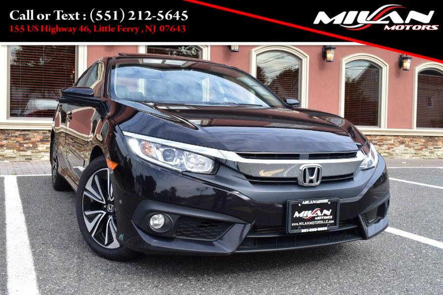 Used Honda Civic Sedan 4dr CVT EX-T w/Honda Sensing 2016   Milan Motors. Little Ferry , New Jersey