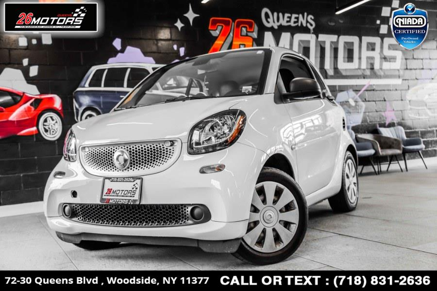 Used smart fortwo 2dr Cpe Prime 2016   26 Motors Queens. Woodside, New York