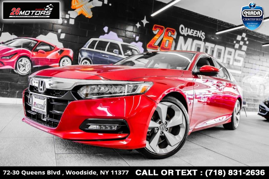Used Honda Accord Sedan Touring 1.5T CVT 2018 | 26 Motors Queens. Woodside, New York
