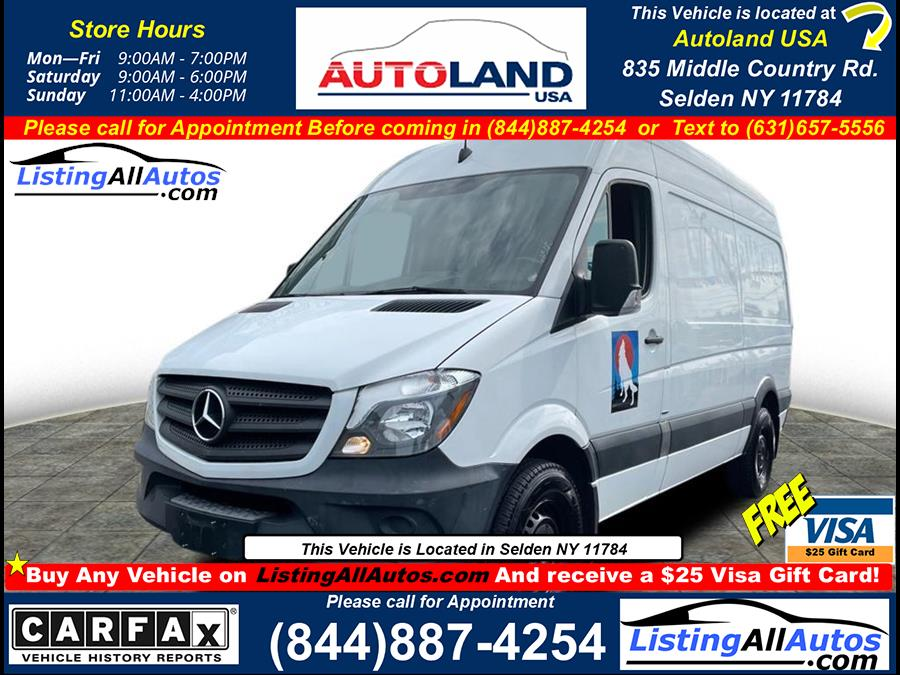 Used 2016 Mercedes-benz Sprinter Cargo in Patchogue, New York | www.ListingAllAutos.com. Patchogue, New York