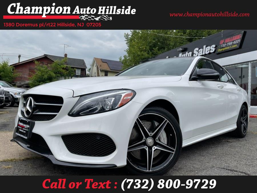 Used 2016 Mercedes-Benz C-Class in Hillside, New Jersey | Champion Auto Sales. Hillside, New Jersey