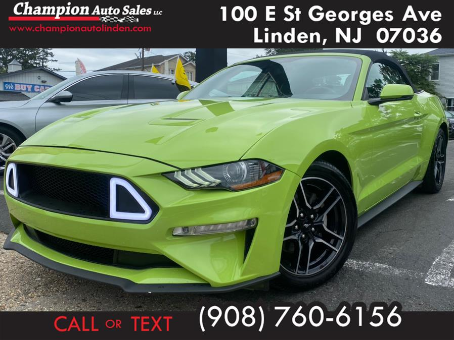 Used 2020 Ford Mustang in Linden, New Jersey | Champion Auto Sales. Linden, New Jersey