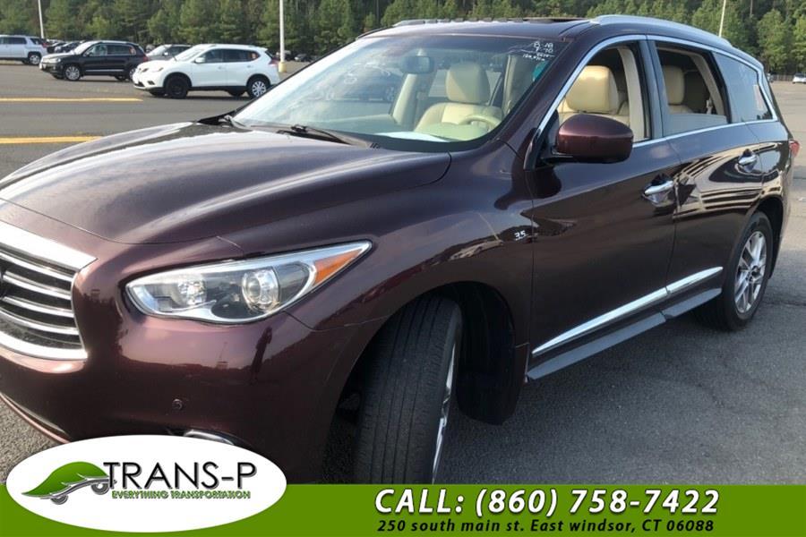 Used INFINITI QX60 AWD 4dr 2014 | Trans P LLC. East Windsor, Connecticut
