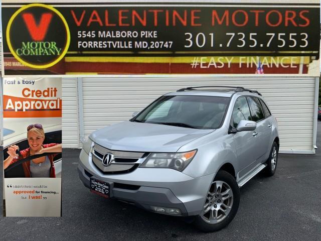 Used Acura Mdx Tech Pkg 2007 | Valentine Motor Company. Forestville, Maryland