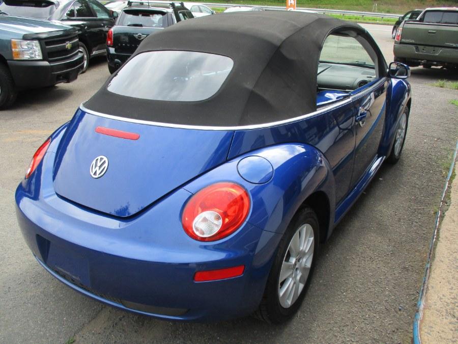 Used Volkswagen New Beetle Convertible S 2008   Cos Central Auto. Meriden, Connecticut
