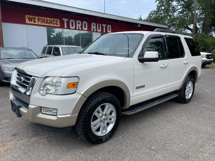 Used Ford Explorer 4WD 4dr V6 Eddie Bauer Leather Sunroof Navi Camera 2008 | Toro Auto. East Windsor, Connecticut