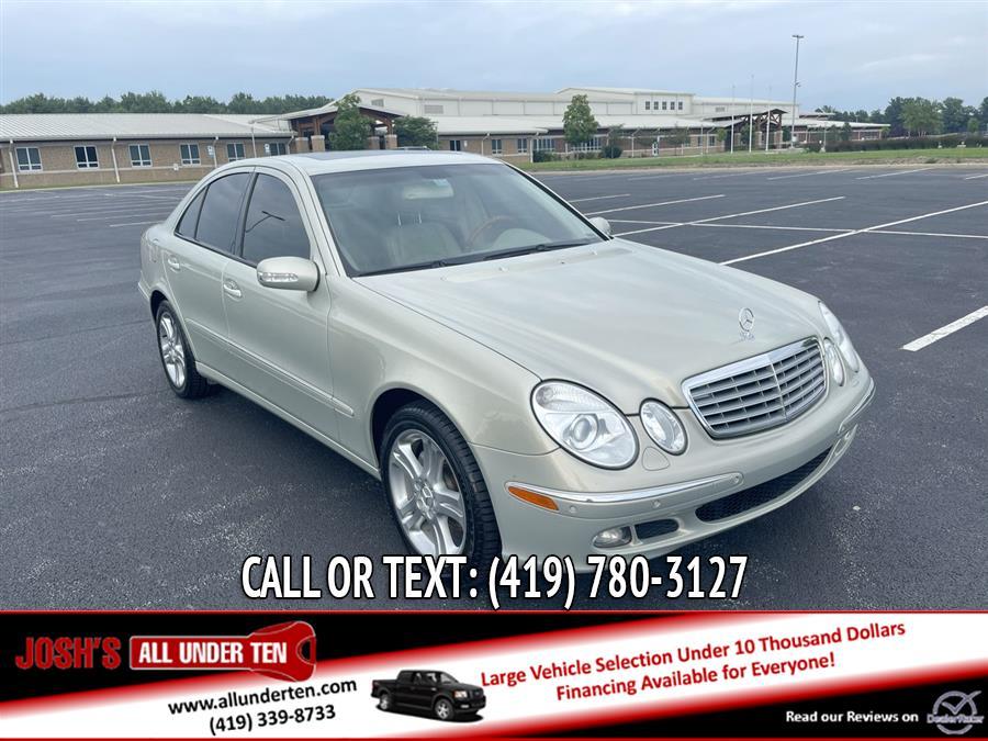 Used Mercedes-Benz E-Class 4dr Sdn 3.5L 2006 | Josh's All Under Ten LLC. Elida, Ohio