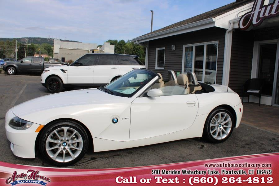 Used BMW Z4 2dr Roadster 3.0i 2008 | Auto House of Luxury. Plantsville, Connecticut