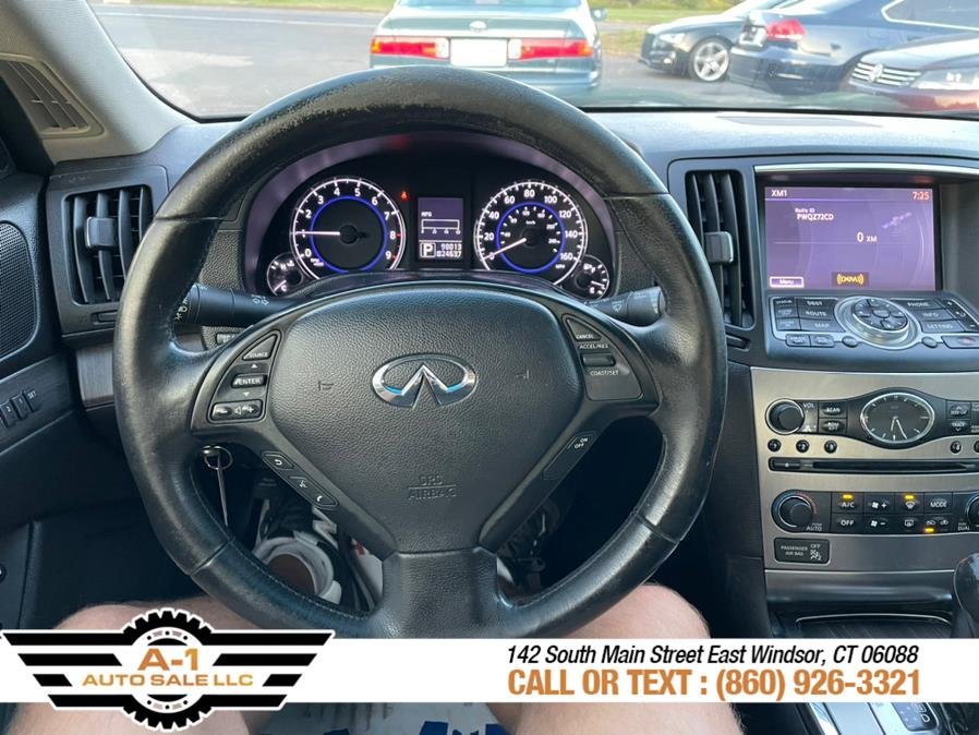 Used Infiniti G37 Coupe 2dr x AWD 2010 | A1 Auto Sale LLC. East Windsor, Connecticut