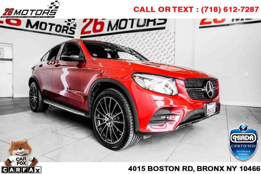 Used Mercedes-Benz GLC GLC 300 4MATIC Coupe 2018   26 Motors Corp. Bronx, New York