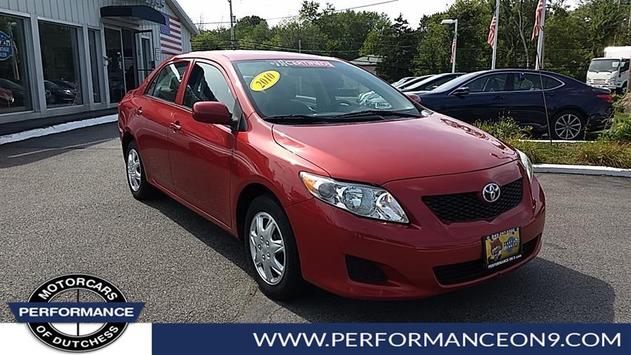 Used 2010 Toyota Corolla in Wappingers Falls, New York | Performance Motorcars Inc. Wappingers Falls, New York
