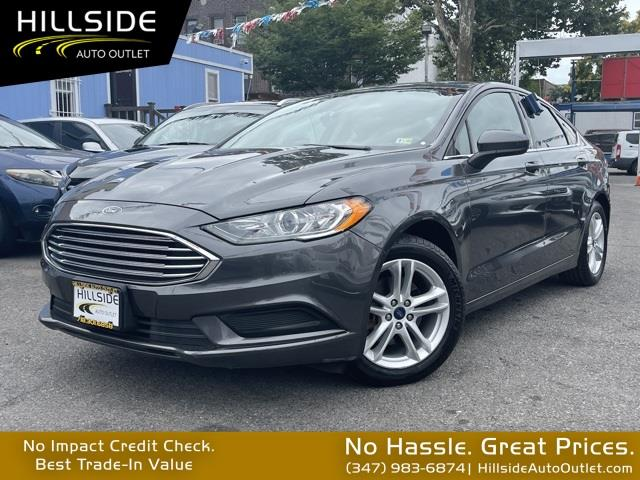 Used Ford Fusion SE 2018   Hillside Auto Outlet. Jamaica, New York