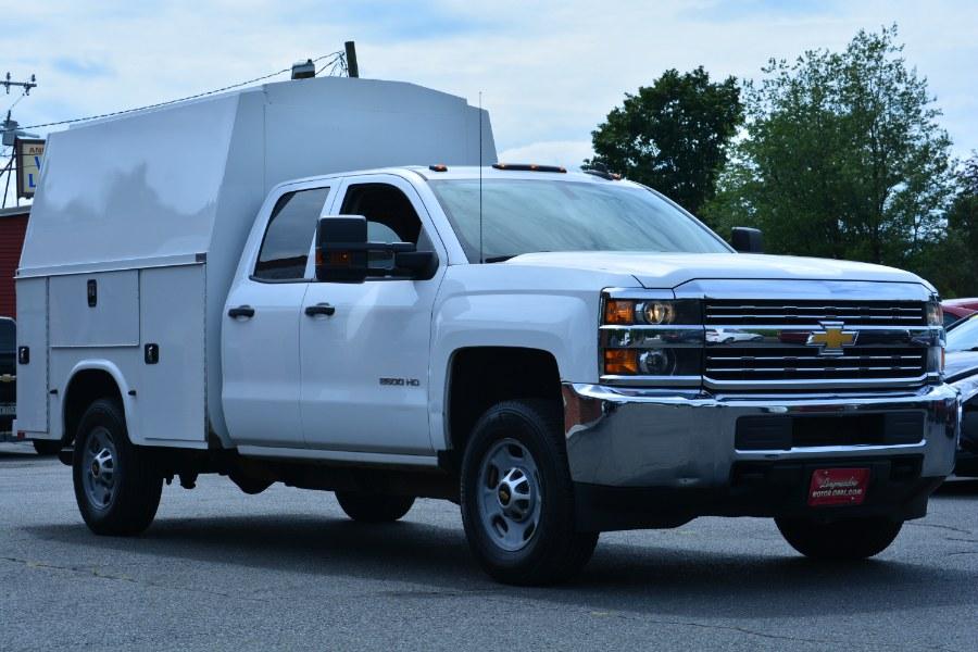 "Used Chevrolet Silverado 2500HD 4WD Double Cab 158.1"" Work Truck 2015   Longmeadow Motor Cars. ENFIELD, Connecticut"