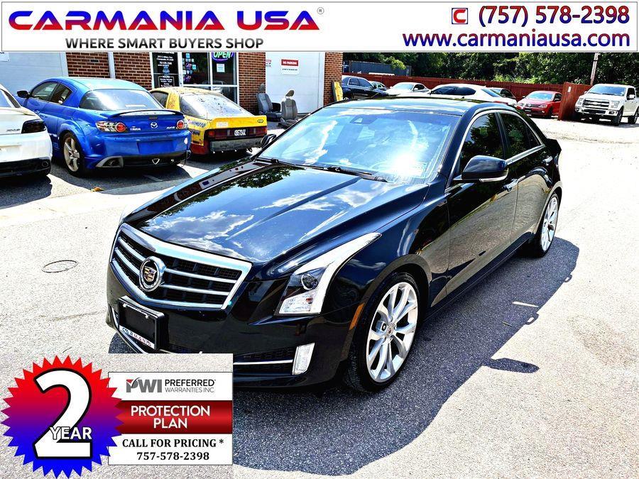 Used Cadillac Ats 4dr Sdn 2.0L Premium RWD 2013   Carmania USA. Chesapeake, Virginia