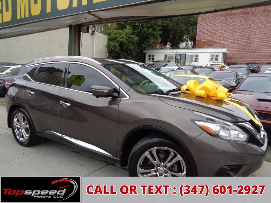 Used Nissan Murano AWD Platinum 2015 | Top Speed Motors LLC. Jamaica, New York
