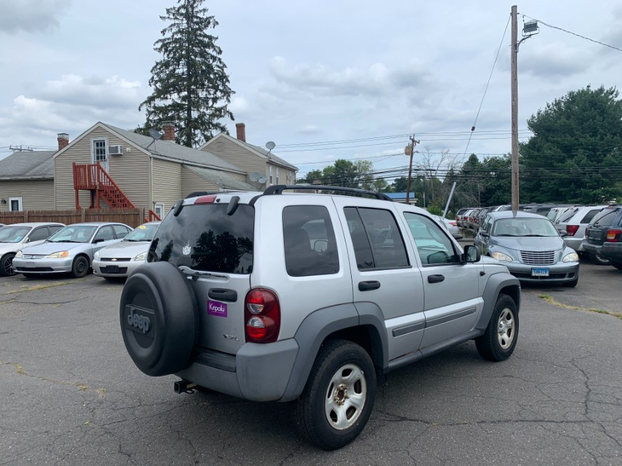 Used Jeep Liberty 4dr Sport 4WD 2005   CT Car Co LLC. East Windsor, Connecticut