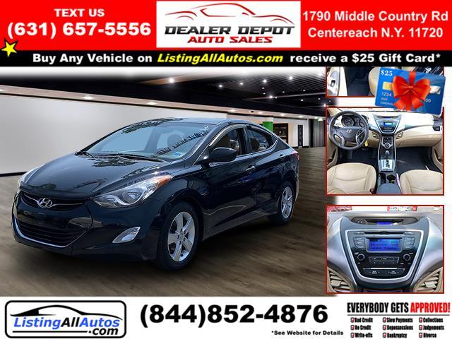 Used Hyundai Elantra 4dr Sdn Auto GLS (Alabama Plant) 2013 | www.ListingAllAutos.com. Patchogue, New York