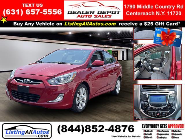 Used Hyundai Accent 4dr Sdn Auto GLS 2013 | www.ListingAllAutos.com. Patchogue, New York