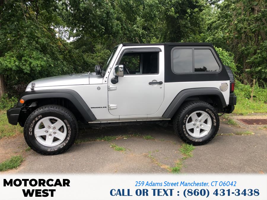 Used Jeep Wrangler 4WD 2dr X 2009   Motorcar West. Manchester, Connecticut