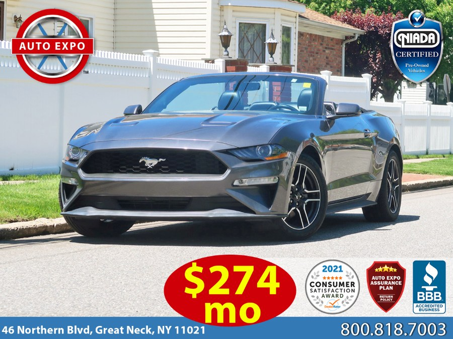 Used 2018 Ford Mustang in Great Neck, New York | Auto Expo Ent Inc.. Great Neck, New York