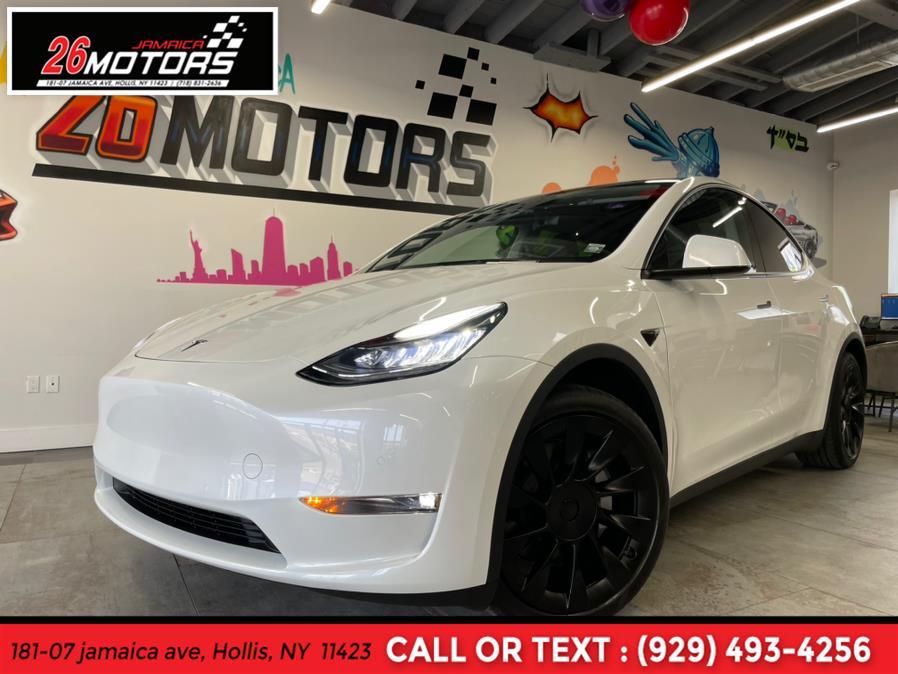 Used Tesla Model Y Long Range AWD 2021   Jamaica 26 Motors. Hollis, New York