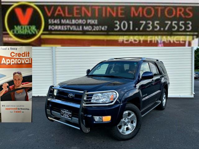 Used Toyota 4runner Limited 2003 | Valentine Motor Company. Forestville, Maryland
