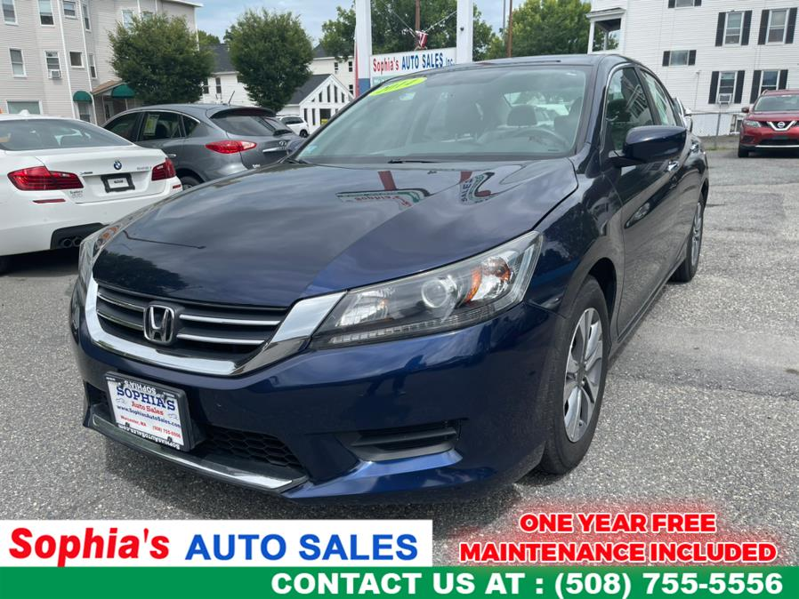 Used 2014 Honda Accord Sedan in Worcester, Massachusetts | Sophia's Auto Sales Inc. Worcester, Massachusetts