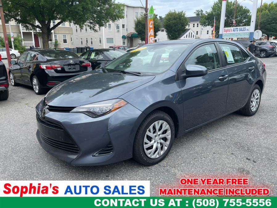 Used 2017 Toyota Corolla in Worcester, Massachusetts   Sophia's Auto Sales Inc. Worcester, Massachusetts
