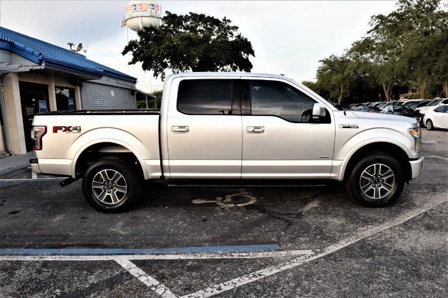 "Used Ford F-150 4WD SuperCrew 145"" Lariat 2015 | Rahib Motors. Winter Park, Florida"