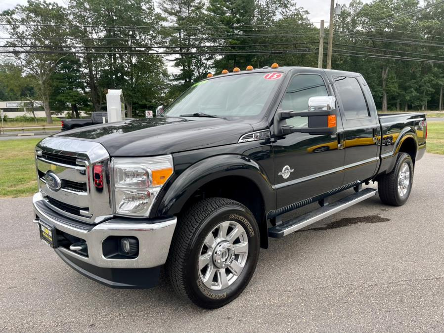 """Used Ford Super Duty F-350 SRW 4WD Crew Cab 156"""" Lariat 2015   Mike And Tony Auto Sales, Inc. South Windsor, Connecticut"""