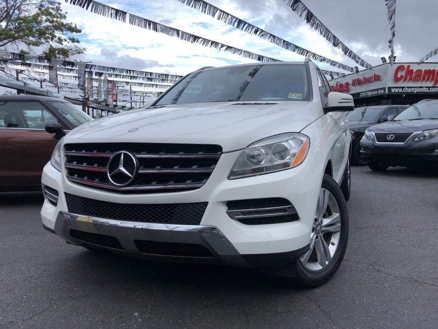 Used 2015 Mercedes-Benz M-Class in Bronx, New York | Champion Auto Sales Of The Bronx. Bronx, New York