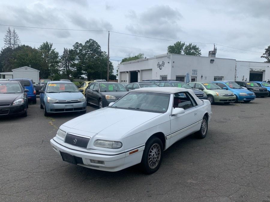 Used Chrysler Lebaron 2dr Convertible GTC 1994   CT Car Co LLC. East Windsor, Connecticut
