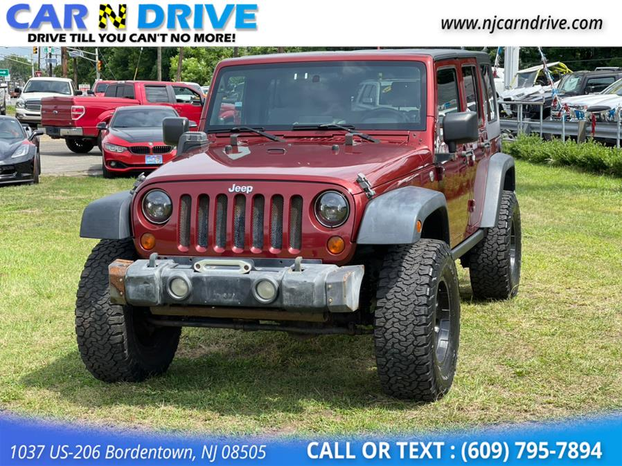 Used Jeep Wrangler Unlimited X 4WD 2008 | Car N Drive. Bordentown, New Jersey