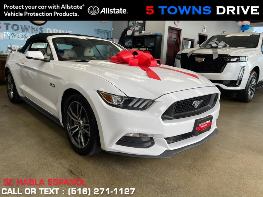 Used Ford Mustang GT Premium Convertible 2017 | 5 Towns Drive. Inwood, New York