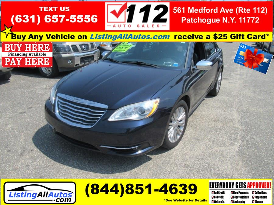 Used 2012 Chrysler 200 in Patchogue, New York | www.ListingAllAutos.com. Patchogue, New York