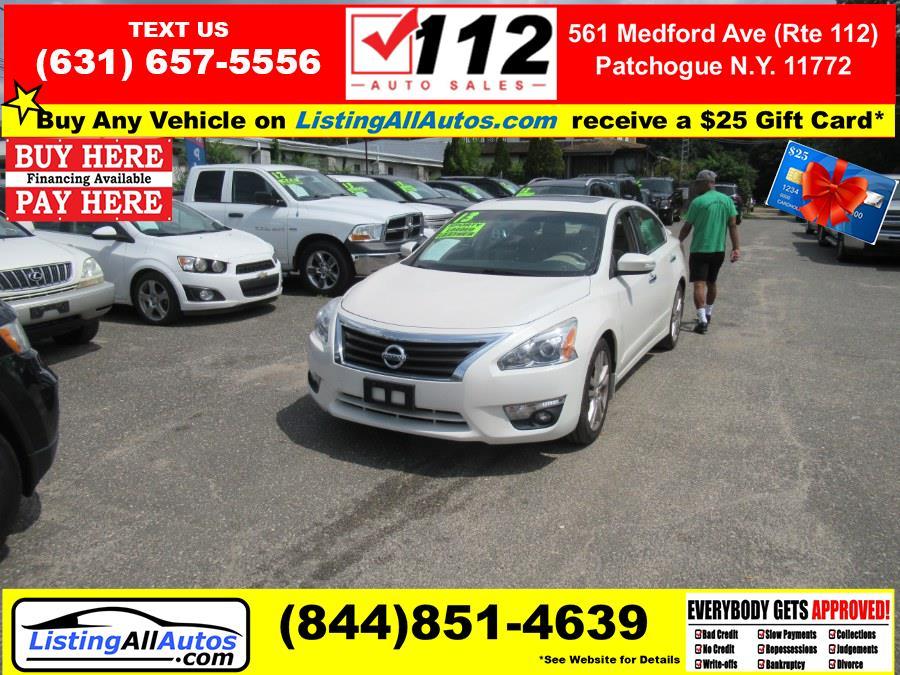 Used Nissan Altima 4dr Sdn V6 3.5 SL 2013   www.ListingAllAutos.com. Patchogue, New York