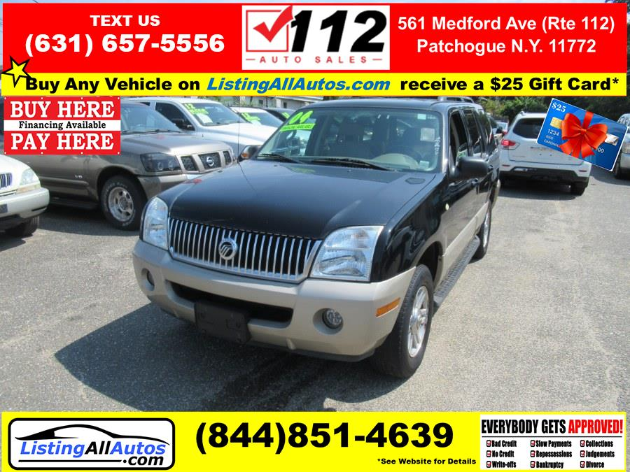 Used 2004 Mercury Mountaineer in Patchogue, New York | www.ListingAllAutos.com. Patchogue, New York