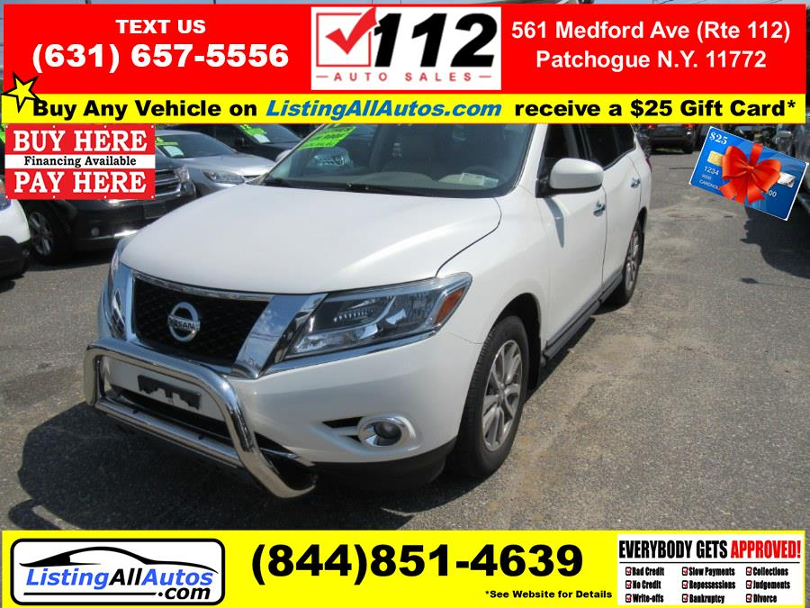 Used Nissan Pathfinder 4WD 4dr S 2014   www.ListingAllAutos.com. Patchogue, New York