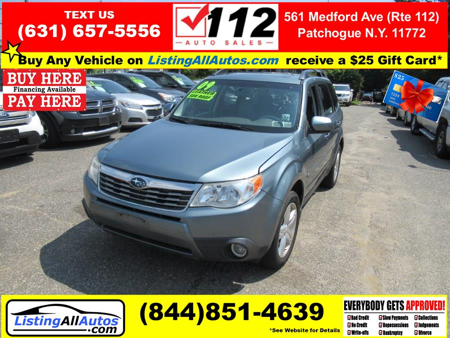Used 2009 Subaru Forester in Patchogue, New York | www.ListingAllAutos.com. Patchogue, New York