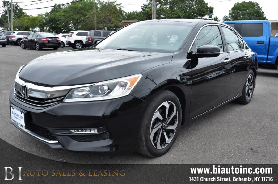 Used Honda Accord Sedan EX-L CVT 2017   B I Auto Sales. Bohemia, New York