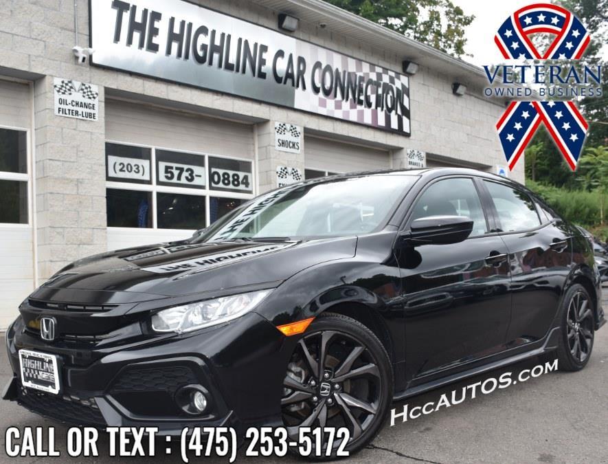 Used 2019 Honda Civic Hatchback in Waterbury, Connecticut | Highline Car Connection. Waterbury, Connecticut