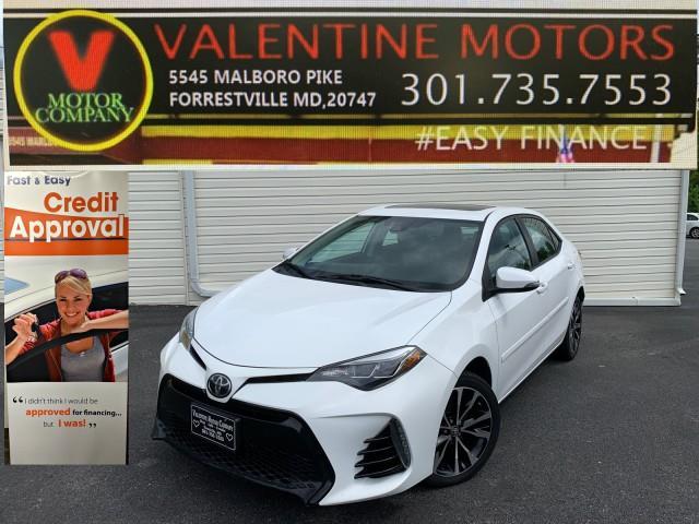 Used Toyota Corolla SE 2017 | Valentine Motor Company. Forestville, Maryland