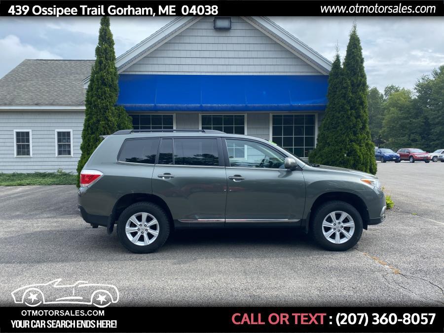 Used Toyota Highlander  2013 | Ossipee Trail Motor Sales. Gorham, Maine
