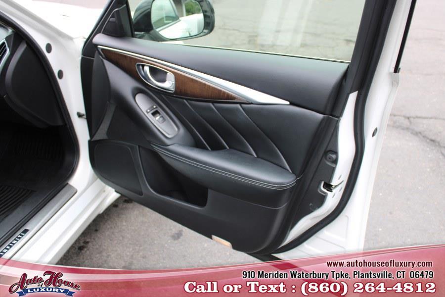Used Infiniti Q50 4dr Sdn Sport AWD 2014 | Auto House of Luxury. Plantsville, Connecticut