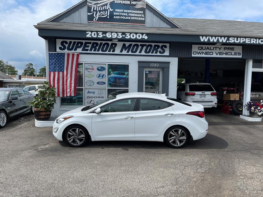 Used Hyundai LIMITED Elantra 4dr Sdn Auto Limited (Alabama Plant) 2015 | Superior Motors LLC. Milford, Connecticut