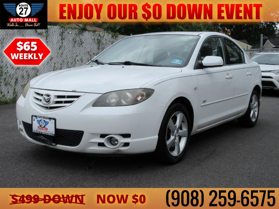 Used 2006 Mazda Mazda3 in Linden, New Jersey   Route 27 Auto Mall. Linden, New Jersey