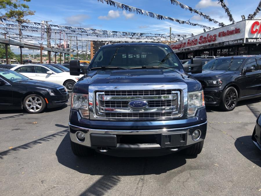 """Used Ford F-150 4WD SuperCrew 145"""" XLT 2013   Champion Auto Sales Of The Bronx. Bronx, New York"""